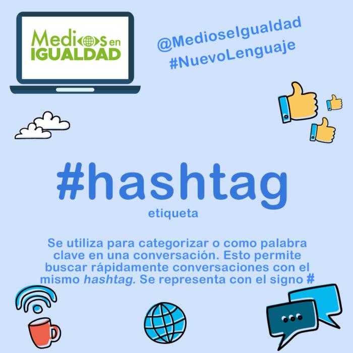 Hashtag #NuevoLenguaje Lenguaje