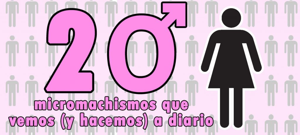 20 micromachismos