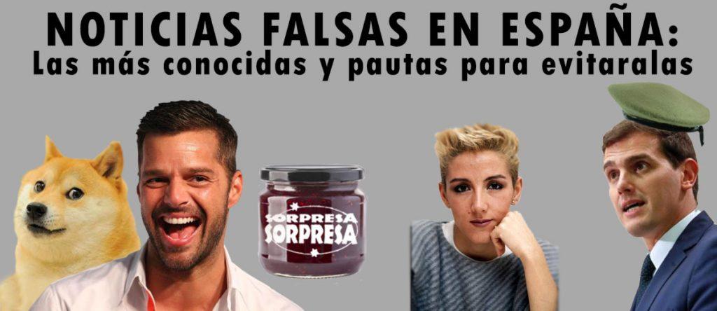 Noticias falsas en España