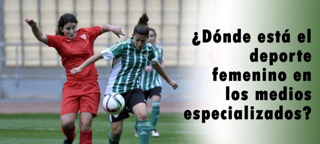 El deporte femenino en la prensa especializada